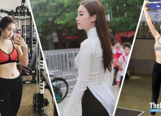 Cùng hoa hậu Mỹ Linh tập gym và học cách giữ dáng chuẩn ra sao nhé