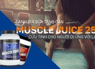 Đánh giá Muscle Juice 2544 - Sữa tăng cân số 1 của Ultimate Nutrition