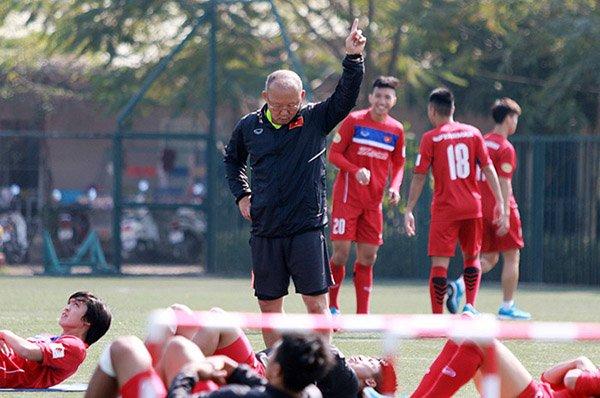 Park Hang Seo tăng thể lực cho U23 Việt Nam như thế nào?
