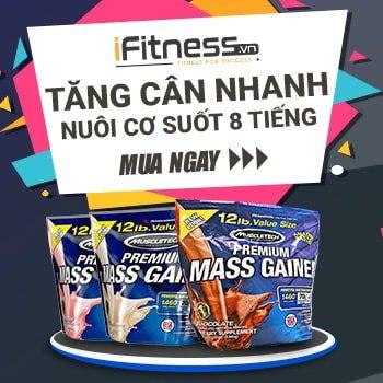 Premium Mass Gainer - Sữa tăng cân cho người gầy tập gym