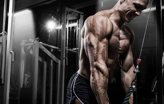 Lịch tập tay sau hiệu quả nhất cho nam với cường độ cao