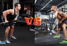 So sánh T-Bar Row với Barbell Bent-Over Row - Bài nào tập xô tốt hơn ?