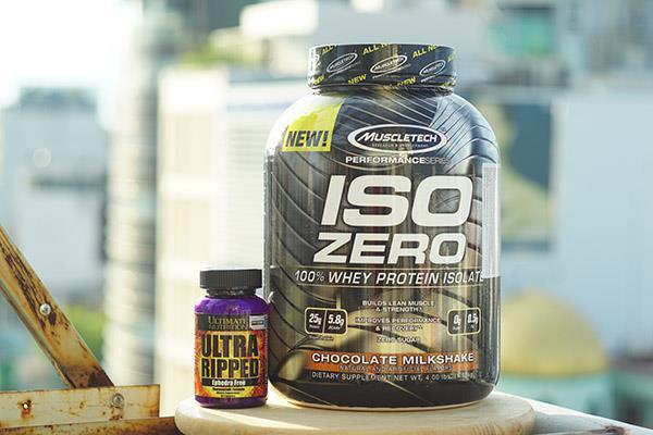 Review MuscleTech Iso Zero - Sữa tăng cơ phù hợp cho người đang siết cơ