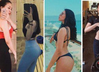 Tăng size ngực và mông nhờ tập gym, cô gái khiến bao chị em hết sức ghen tị