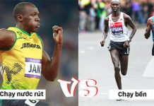 Tại sao người chạy bộ đường dài và chạy nước rút trông rất khác nhau ?