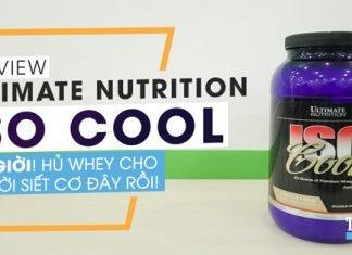 Ultimate Nutrition Iso Cool - Ơn giời, hũ whey cho người siết cơ, giảm cân đây rồi!