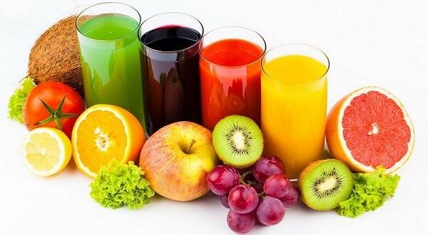 2. Nước ép trái cây