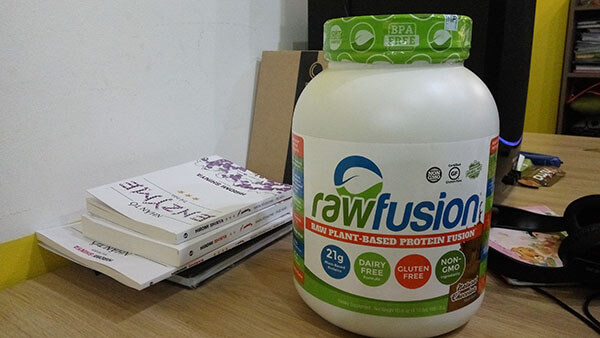 Review Raw Fusion - Whey Protein thực vật dành cho người ăn chay