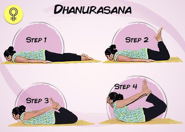 Tư thế Bow-pose (Dhanurasana)