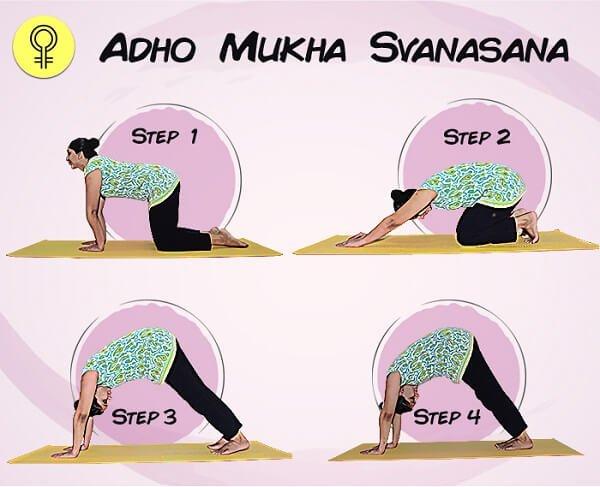Tư thế Downward - Facing - Dog (Adho Mukha Svanasana)