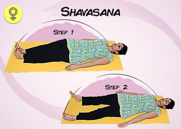 Tư thế Thư giãn (Shavasana)