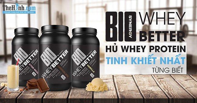 Review Bio Whey Better - Sữa tăng cơ tinh khiết đạt chuẩn nhất từng biết