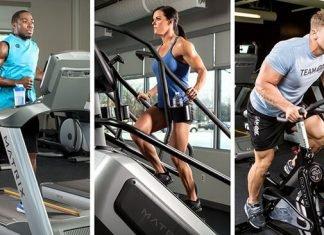 Máy tập cardio nào là tốt nhất ở phòng tập để giảm cân ?