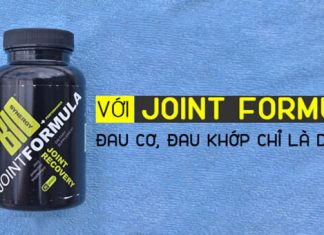Review Joint Formula Performance Joint Recovery giúp hỗ trợ xương khớp