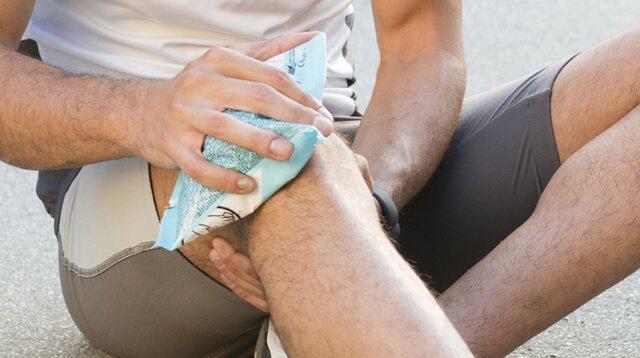 Chườm đá có thể khiến cho chấn thương của bạn thêm nặng hơn đấy