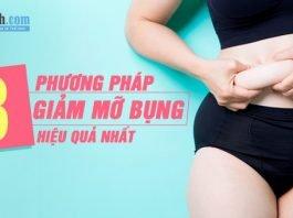 Mỡ bụng không hề khó giảm, đây là 8 cách giảm mỡ bụng hiệu quả nhất
