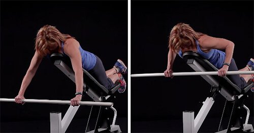 Wide-Grip Barbell Incline Row