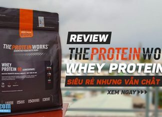 Review Whey Protein 80 Concentrate - Ngon, rẻ nhưng vẫn chất lượng