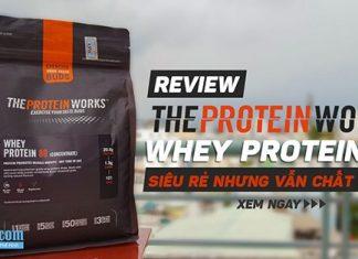 Review Whey Protein 80 Concentrate - Ngon, rẻ nhưng vẫn chất lượng