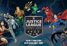 Giải chạy bộ Justice League Night Run 2018 - Nơi siêu anh hùng hội tụ