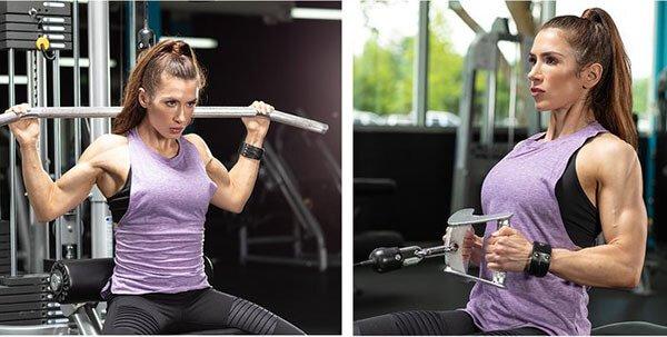 Hướng dẫn tập lưng cường độ cao cho nữ có lưng thon quyễn rũ