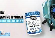 Đánh giá BCAA Amino Hydrate - Không chỉ dành cho dân tập gym