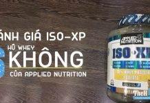 Đánh giá Whey Iso-Xp - Whey Isolate 6 KHÔNG của Applied Nutrition