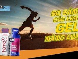 Review và so sánh 1 số loại gel năng lượng củ GU, Hammer và Huma