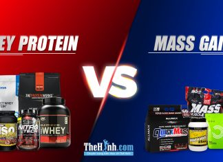 So sánh whey và mass - Lựa chọn nào cho bạn khi tập gym ?