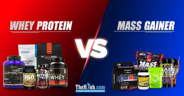 So sánh whey và mass – Lựa chọn nào cho bạn khi tập gym ?