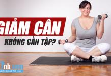 Thử ngay 6 mẹo giảm cân không cần tới phòng gym