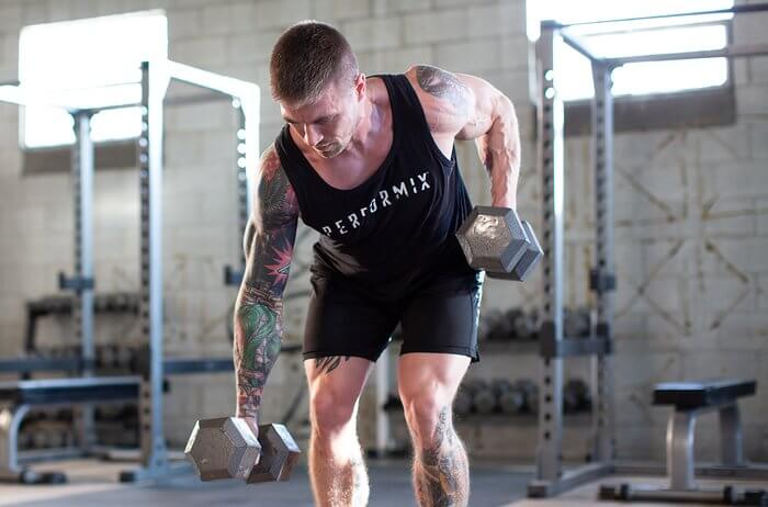 Bài tập thể dục giảm mỡ toàn thân cho nam và nữ với tạ Dumbbell