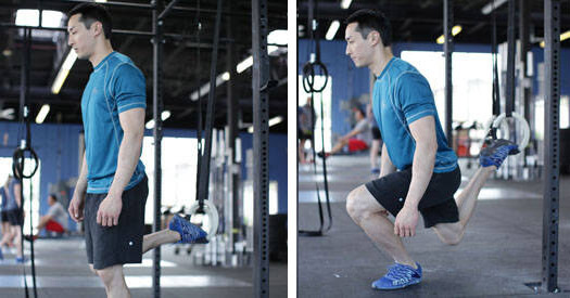 Suspended Split Squat