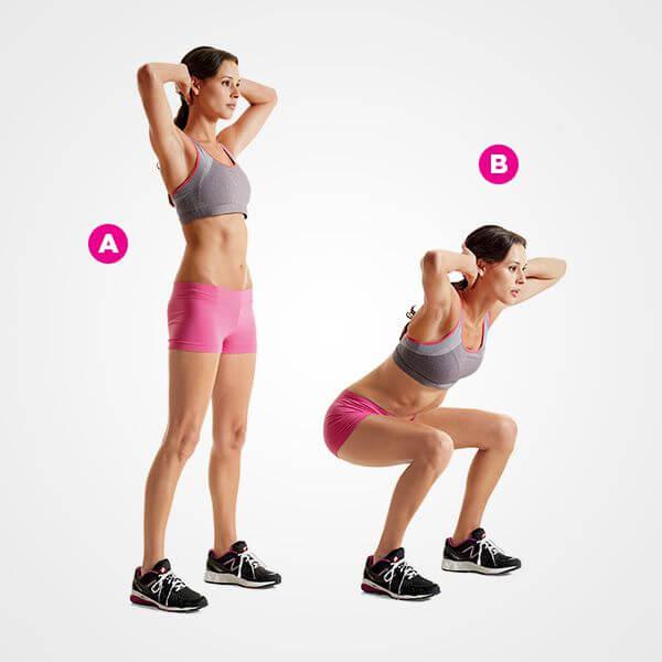 Bài tập Bodyweight Squat