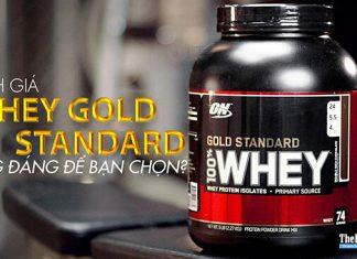 Đánh giá Whey Gold Standard 100% của ON - Có đáng để dùng?