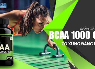 So sánh Optimum Nutrition BCAA 1000 Caps - Có nên mua hay không?