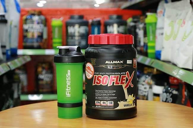 Review AllMax Nutrition IsoFlex - Whey Isolate với khóa muỗng độc đáo