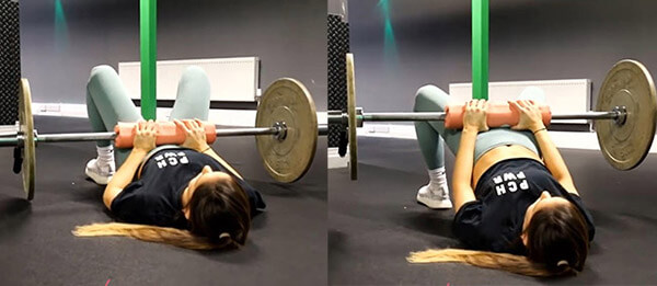 Barbell Glute Bridges