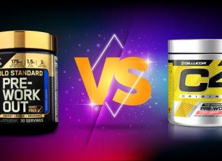 So sánh Gold Standard Pre Workout và Pre Workout C4 Original