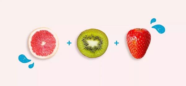 Nhóm tăng cường hệ thống miễn dịch: Bưởi, kiwi, dâu tây