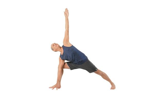 Hướng dẫn tư thế góc nghiêng duỗi – Extended side angle Pose (Utthita Parsvakonasana)