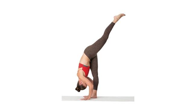 Hướng dẫn cách tập tư thế xoạt chân đứng thẳng - Standing Split