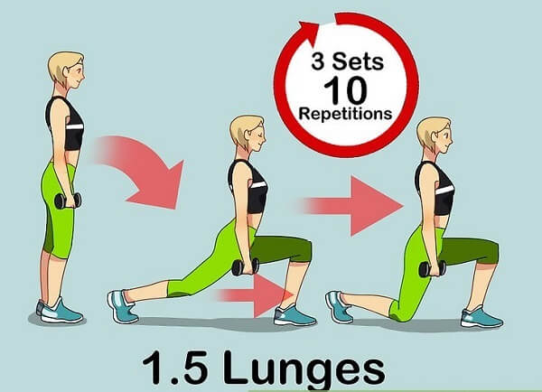 1.5 Lunges