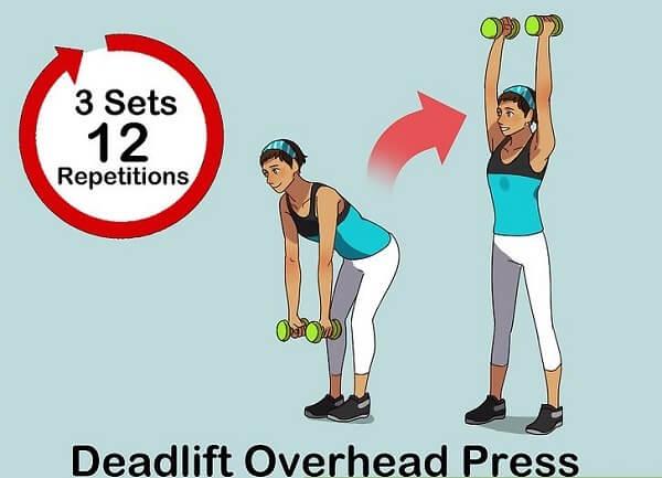 deadlift overhead press