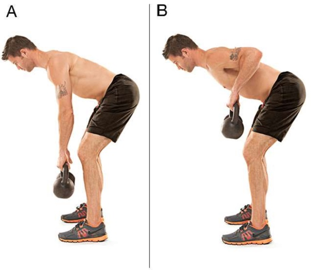Bent-Over Row Hold