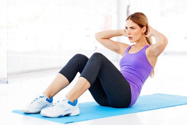 Sit Ups - Gập bụng thẳng chân