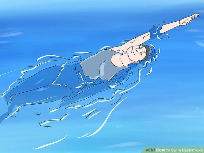 Hướng dẫn chi tiết 9 bước đơn giản giúp bạn tự học bơi ngửa