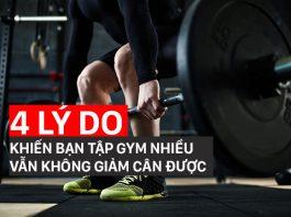 4 sai lầm lý giải tại sao tập gym không giảm cân mà bạn mắc phải