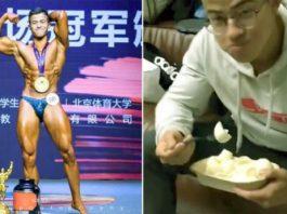 Chàng trai ăn tới 70 lòng trắng trứng mỗi ngày để thay đổi cơ thể