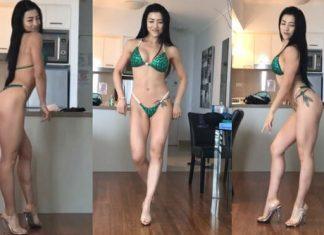 Nữ Gymer bị cảnh sát hỏi tội vì đăng video ăn mặc hở hang trên mạng